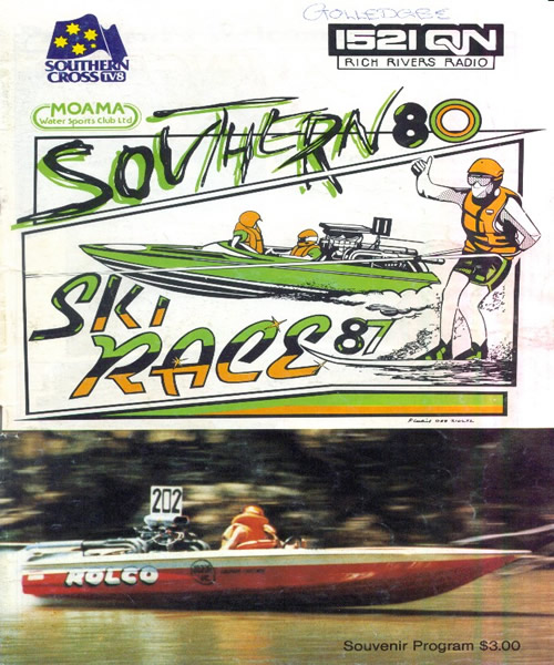 1987 Race Program
