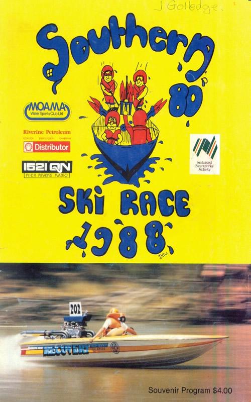 1988 bRace Program