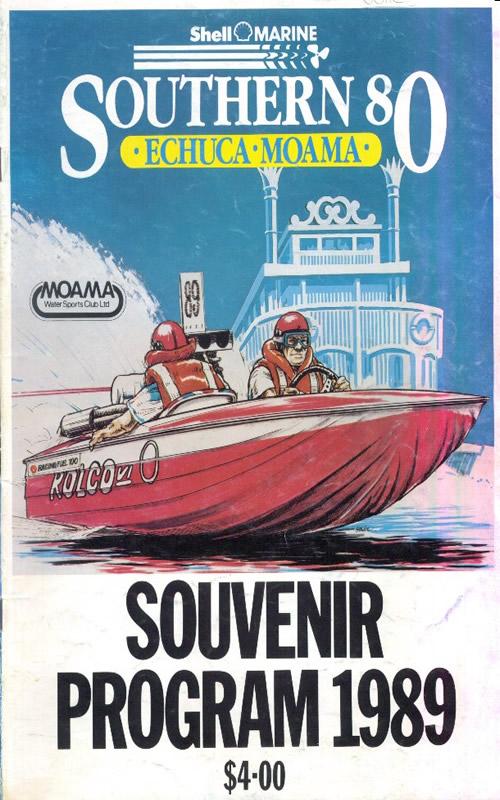 1989 Race Program