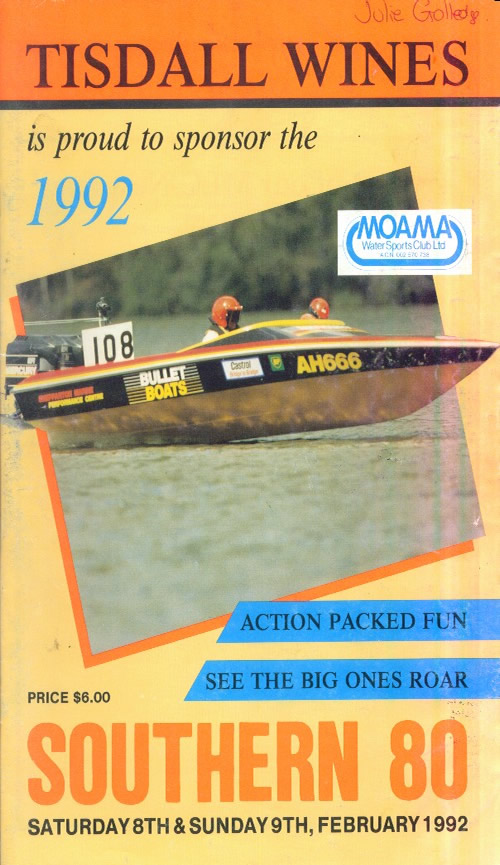 1992 Race Program