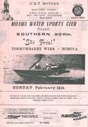 1985 Race Program