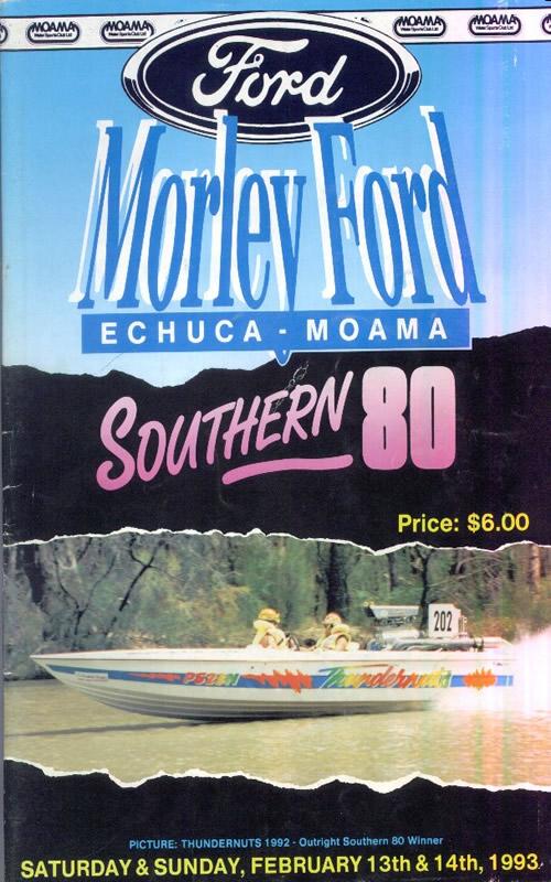 1993 Race Program