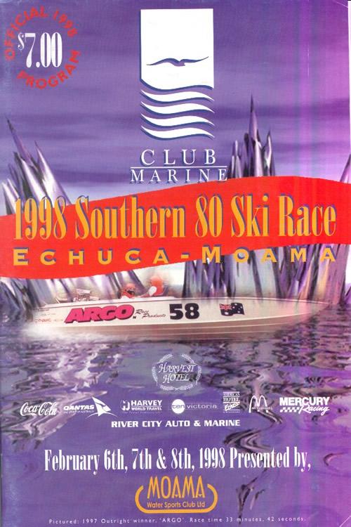 1998 Race Program