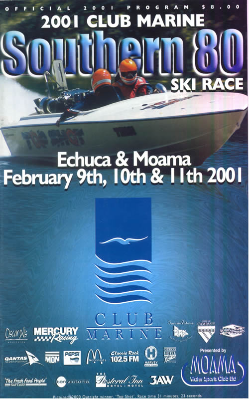 2001 Race Program